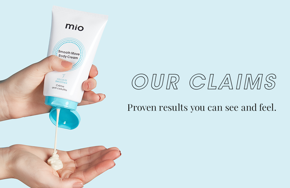 Our Claims. Proven results you can see and feel.