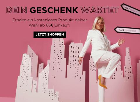 Gratis Produkt deiner Wahl ab 65€