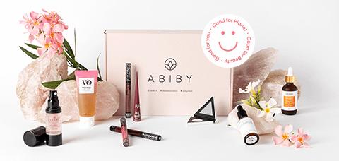 Grow Gorgeous en la caja Abiby