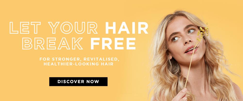 let your hair break free