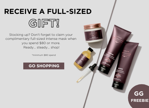 Receive a Full-Sized Intense Mask Gift when you spend $80 or more!