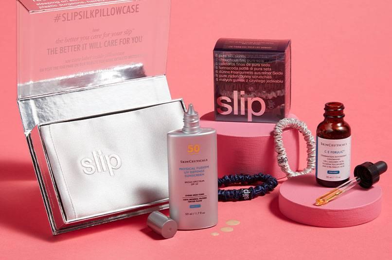 SkinCeuticals x Slip