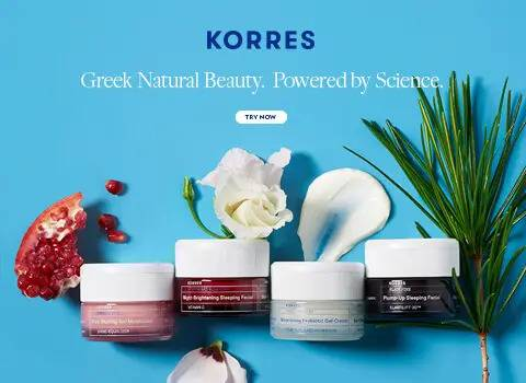 Korres, greek natural beauty, powered by science