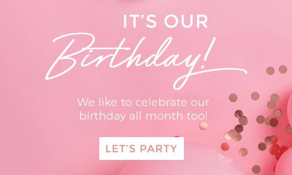 it's our 5th birthday!