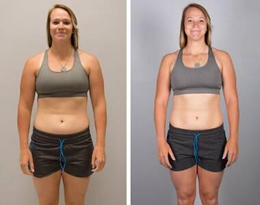 woman weight loss
