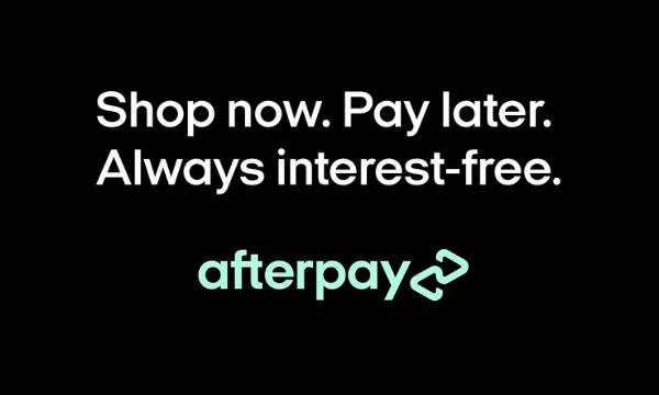 afterpay. shop now. pay later.