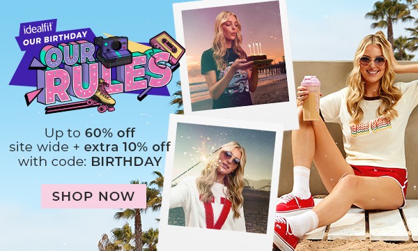 Up to 60% off + extra 10% off with code: BIRTHDAY