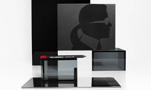 KARL LAGERFELD + MODELCO – LIP LINER RED