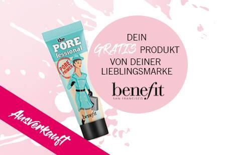 GRATIS benefit-Produkt