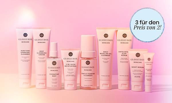 GLOSSYBOX Skincare 3 für 2