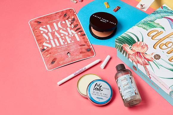 Juli July Glossybox 2020 aloha edition