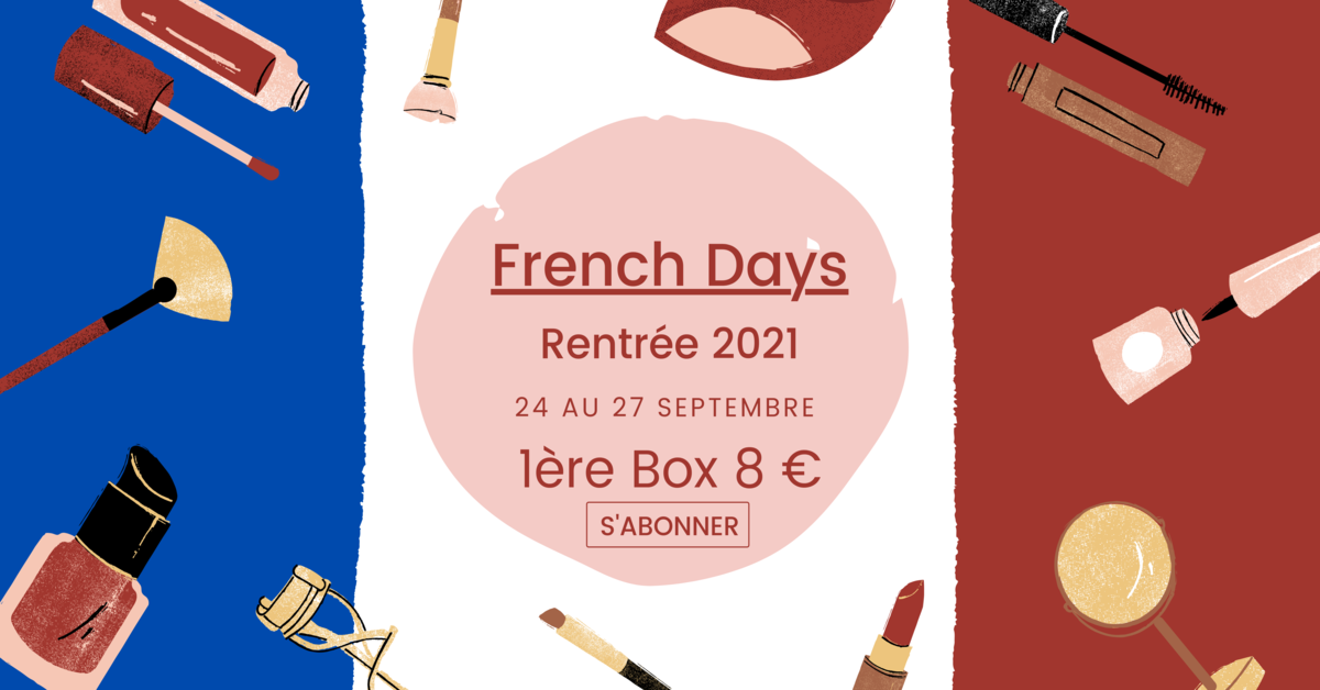 french day 1st box 8 euro