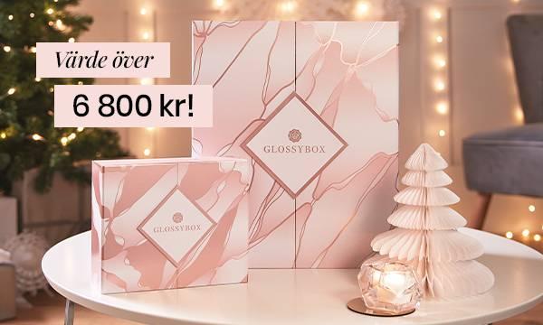 Köp vår lyxiga adventskalender och limiterade julbox för endast 1298 kr!
