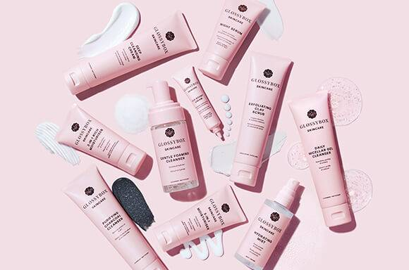 GLOSSYBOX Skincare products