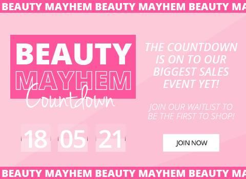 Join the Beauty Mayhem Waitlist