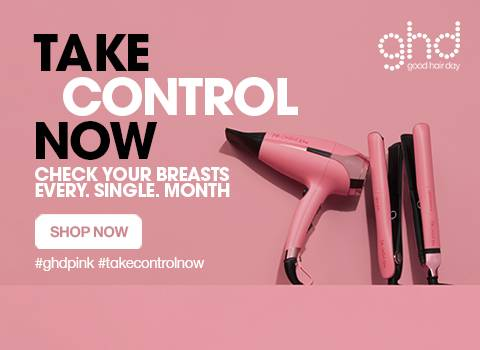 Ghd Pink Campaign