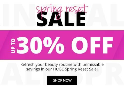 Spring Flash Sale