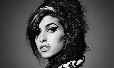 Illamasqua x Amy banner of Amy Winehouse
