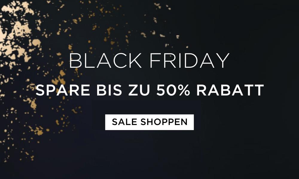 Black Friday - Spare bis zu 50% Rabatt!