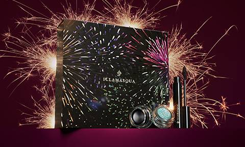 Ultimate Eye Set with fireworks in the background.