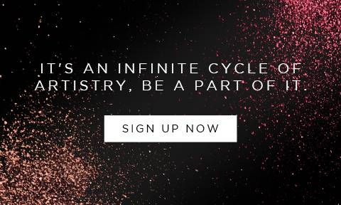 It's an infinite cycle of artistry, be a part of it. Sign Up Now