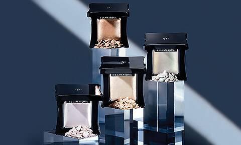 Highlighters Illamasqua, nos meilleures ventes mondiales. Ajoutez un illuminateur de teint a votre routine maquillage pour un fini enluminé et naturel.