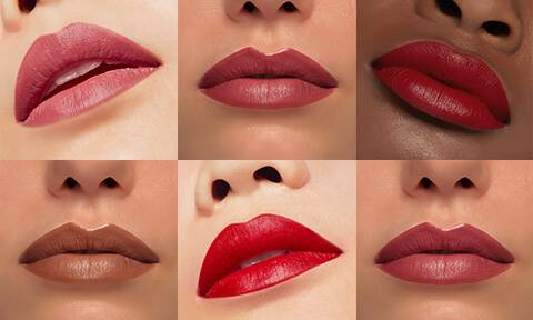 Create the perfect pout with our hand-crafted lipsticks, lip liners and lip polishes. Formulations created to make a statement, our lip products come in matte, satin and glossy finishes.