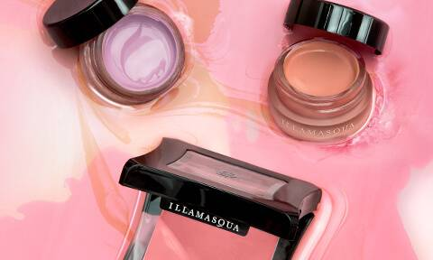 Highly pigmented, long wear blusher. Innovative and first to market formulations; Gel Colour, Velvet Blusher, Cream Blusher and Powder Blusher.