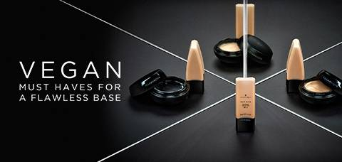 VEGAN MUST HAVES FOR A FLAWLESS BASE - SHOP NOW