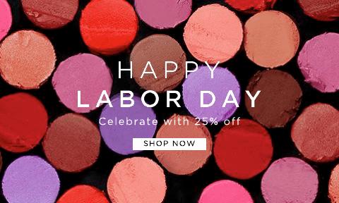 happy labor day - 25% off