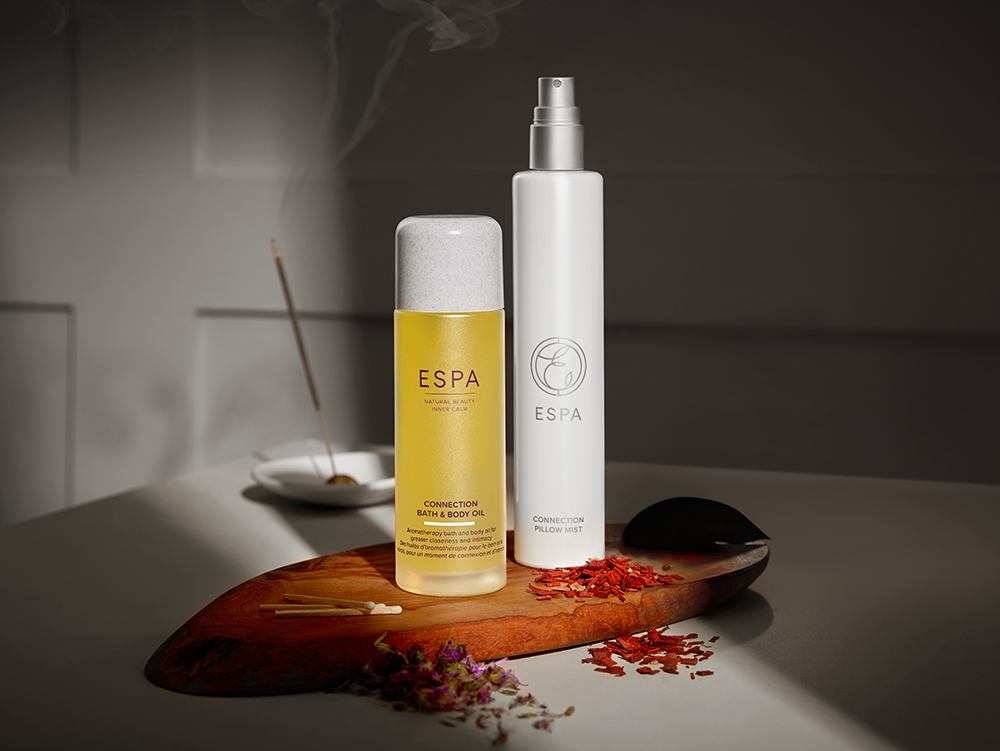 Explore ESPA's new sensual aromatherapy blend made to inspire deeper connections and intimate moments.