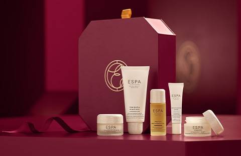 Discover ESPA's Christmas Gift when you spend £100. Click to Shop all
