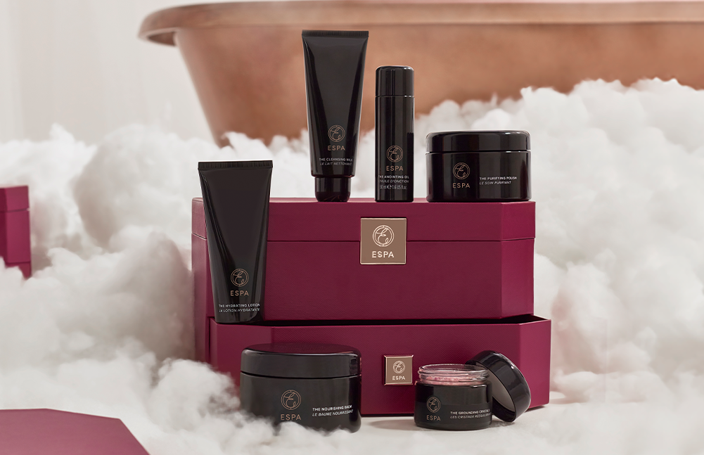 Indulge in and escape to the world of ESPA this Christmas
