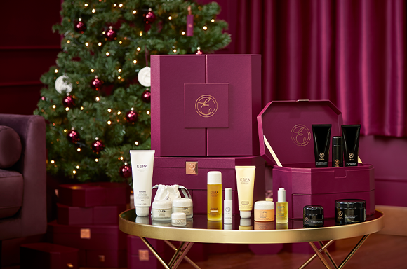 Induldge in and enjoy the world of ESPA this Christmas