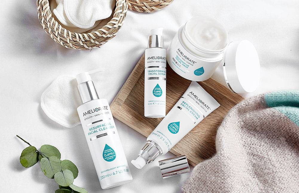 Our new facial range is here shop now