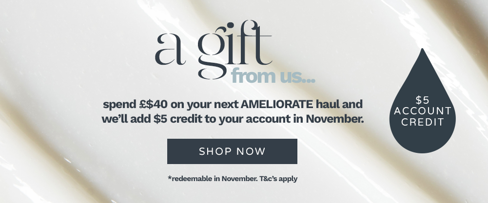 Spend $40 in the month of October and we will add $5 credit to your account in August. Terms and Conditions Apply
