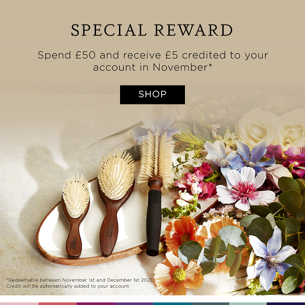 Special Reward - Spend £50 and receive £5 credited to your account in November