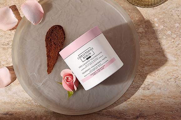 Cleansing Volumizing Paste with Rose Extracts