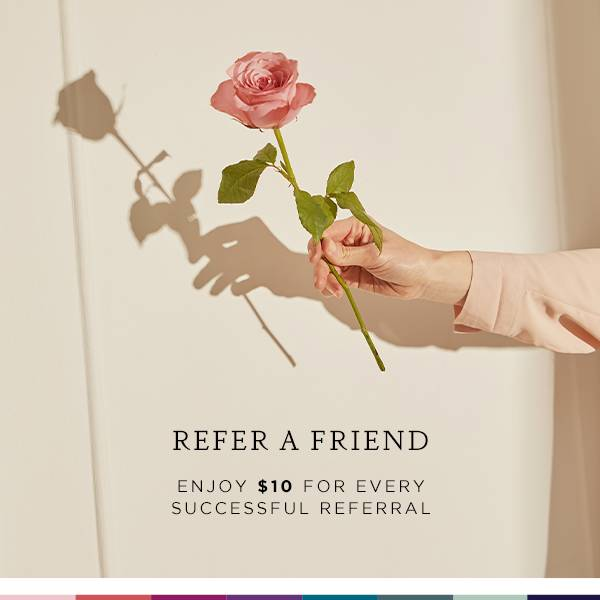 Spend $60 and enjoy $10 when you refer a friend