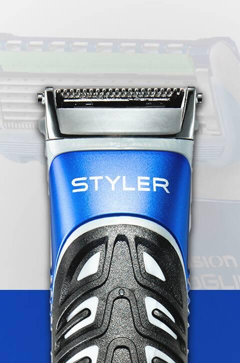 Gillette Styler - waterproof and engineered by Braun.