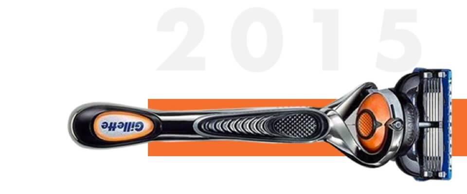 Fusion5 ProGlide Rasierer mit flexiblem Schwenkkopf seit 2015 | Gillette DE