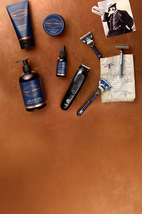 SAVE 33% ON SELECTED KING C. GILLETTE PRODUCTS!