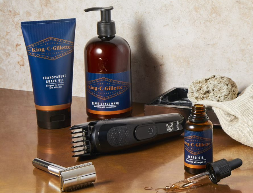 SAVE 33% ON KING C. GILLETTE PRODUCTS