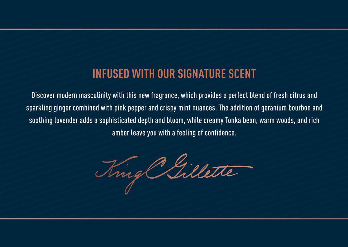 King C. Gillette Signature Scent
