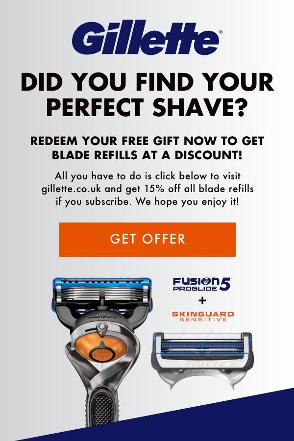 Did you find your perfect shave? Redeem your free gift now to get blade refills at a discount!