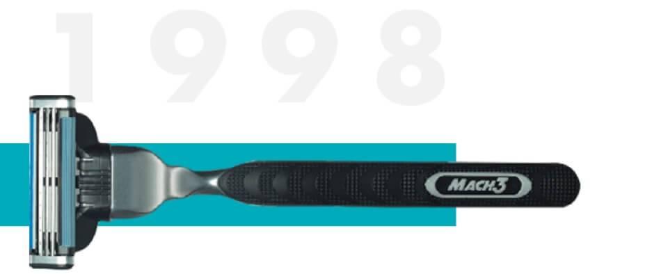 Gillette Mach3 razor 1998