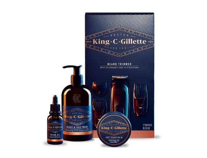Beard Trimmer & Beard Care Kit