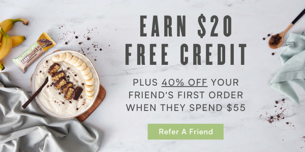 Refer a friend and earn $20 credit