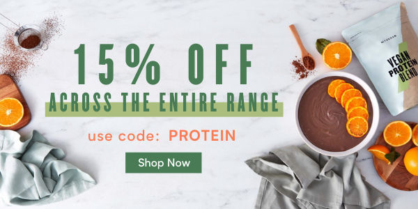 15% off Everything | Code: PROTEIN