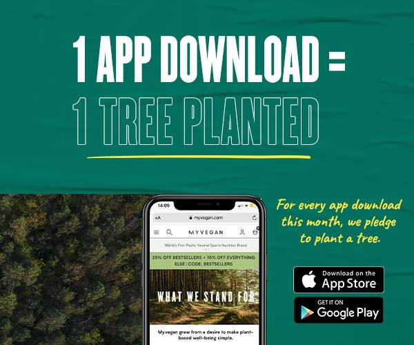 1 App Download = 1 Tree Planted